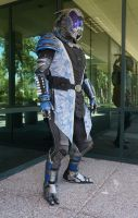 Tallus'Vakarian Vas Normandy Cosplay by ammnra