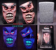 Mr.Hyde Zippo 1 by Undead-Art