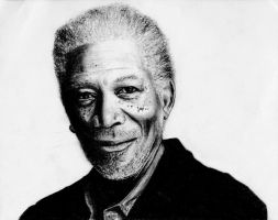 Morgan Freeman by Bolbec
