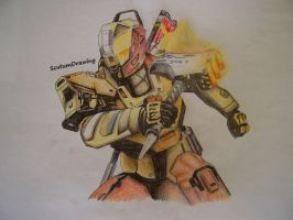 Sunbreaker Titan - Destiny: The Taken King by Scutum20