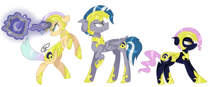 The Three Guards of Harmony by ThePegasisterPony