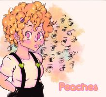 Peaches by albin0-toucan