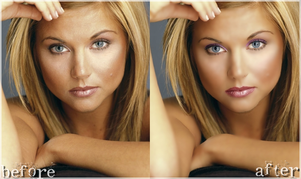 Retouch 01: Tiffani Thiessen by Diffence