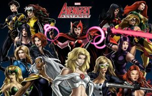 Marvel Ladies by icequeen654123