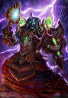World of Warcraft TCG art by TylerWalpole