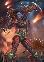 Wow Troll warrior by Zamberz