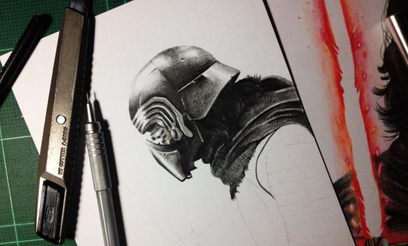 The Knights of Ren (work in progress) by Gutter1333