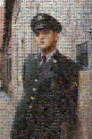 Elvis In The Army Mosaic by billyvector