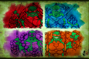 TMNT by darksilvania