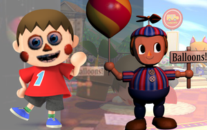 Balloon Villager by MiguiEarth