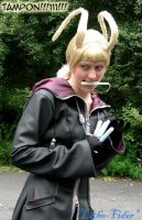Larxene Tampon Cosplay fun by Lithe-Fider