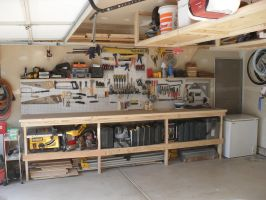 Work Area and Overhead Storage by Hearte42