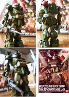 1/20 SCOPEDOG Red shoulder custom(BANDAI) by yasuoshubukan