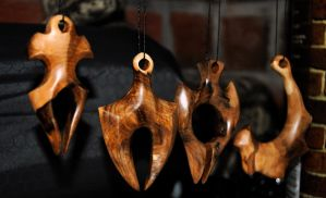Mountain ash pendants by JOVictory