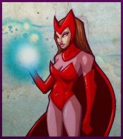 Scarlet Witch by berkheit