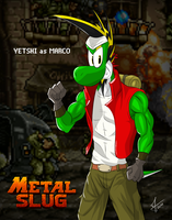 Metal Slug Yoshi collab - Player 1: Yetshi by McTaylis