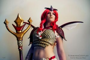 Red Gyarados by TerminaCosplay