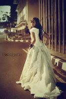 runaway bride by qqphotography