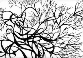 Branches of Ink by shinko112