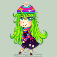 Lime chibi by Veriito-chan