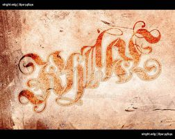 Ambigram 1 by strght