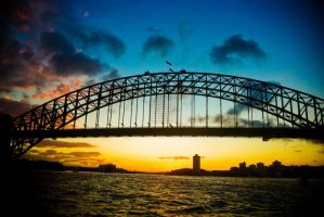 Sydney Sunset by addr010