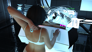 Alli at the lab 2 - discovering the implant by AlliDee