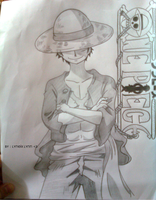 Monkey D. Luffy New world :P by lyneixlynn