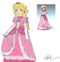 Princess Peach's Brawl 2 by Jago-Mizukami