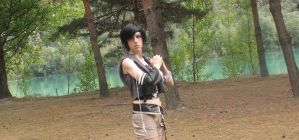 Yuffie cosplay shoot 3 by LouSan