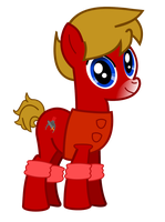 Max Mustang My Little Pony by Pilot231