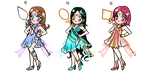 Sailor Senshi Adoptables CLOSE by YukiMiyasawa