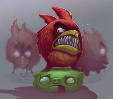 Very Angry Birds by Trudsss
