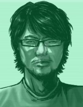 YONG YEA METAL GEAR SOLID CODEC portrait by xASHLERx