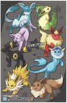 Pkmn :: EEVEELUTION by finni