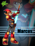 Marcus-in-armor by OmegaSunBurst