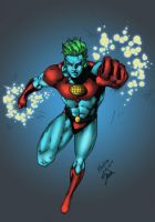 Captain Planet Colored by SmoothColor