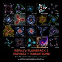 Waves2+Variations Flamepack by ReFa1