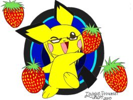 Lil Pi, Strawberry Party XD by Iblue-Kitzune
