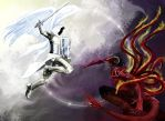 Epic Battle by Ramz-y