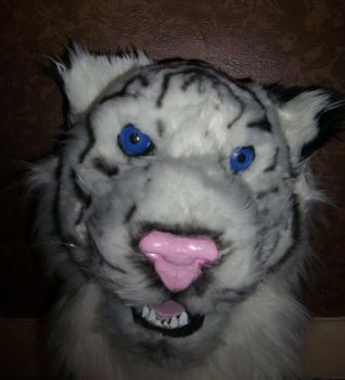 Tiger halfway airbrushed by TearsOfFallenAngels