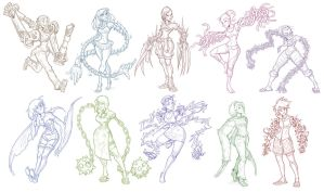 Weird Arm Ladies by CauseImDanJones