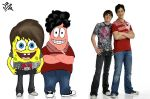 Drake and Josh, Bob and Patric by JuAnRSoN