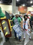 Singed, Brolaf, and Nurse Akali PHXCC 2013 by ImperialCody