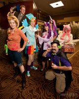 MLP: Yulecon group by MandyNeko