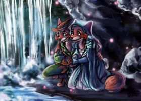 CC: Robin Hood and Maid Marian by MistyTang