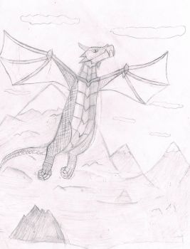 Wyvern flight by SecretBoss88