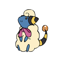 The Happiest Mareep by sunnyfish