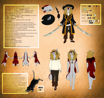 Captain Ice-Eyed Zaila reference sheet 2015 by Zaila-theCreator