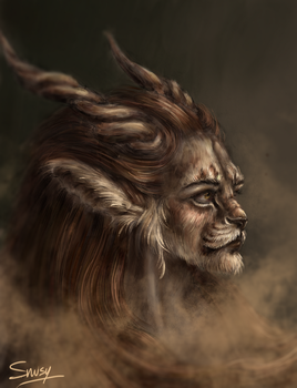 The Beast (female version) by Snusy